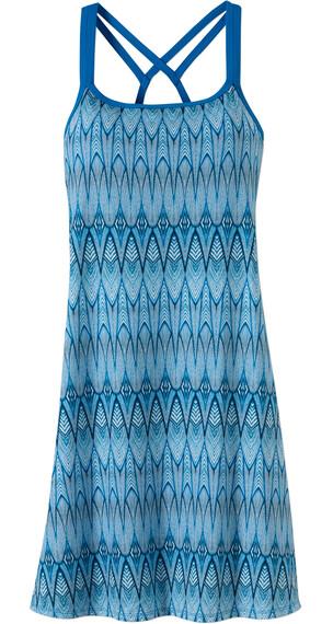Prana W's Cora Dress Blue Feather
